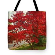 The Painted Leaves Tote Bag