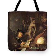 The Painter In His Workshop 1647 Tote Bag
