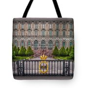 The Palace Courtyard Tote Bag