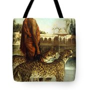 The Palace Guard With Two Leopards Tote Bag