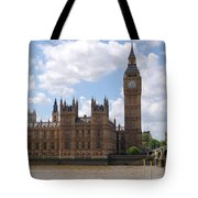 The Palace Of Westminster Tote Bag