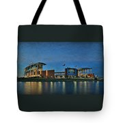 The Palace On The Brazos Tote Bag