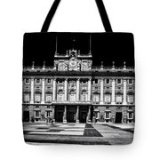 The Palacio Real, Madrid  Tote Bag