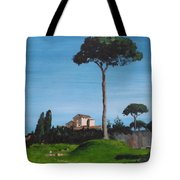 The Palatine Hill, Rome Tote Bag