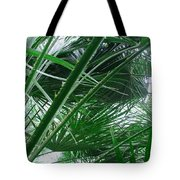 The Palm House Kew England Tote Bag