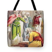 The Parable Of The King And The Tote Bag