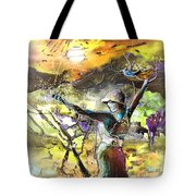 The Parable Of The Sower Tote Bag by Miki De Goodaboom