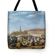 The Pardon Of Sainte Anne La Palud Tote Bag