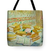 The Parisian Novels Or The Yellow Books Tote Bag