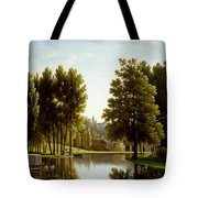 The Park At Mortefontaine Tote Bag