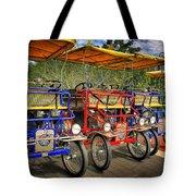 The Park Bikes Tote Bag