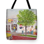The Park Shoppe Portsmouth Ohio Tote Bag