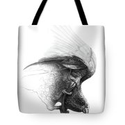 The Parrot Tote Bag