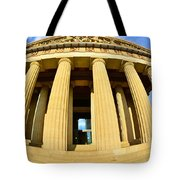 The Parthenon In Nashville Tennessee 3 Tote Bag
