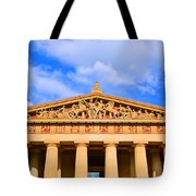The Parthenon In Nashville Tennessee  Tote Bag