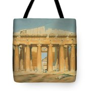 The Parthenon Tote Bag by Louis Dupre