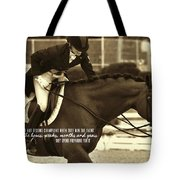 The Partnership Quote Tote Bag