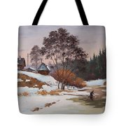 The Pasha River. March Tote Bag