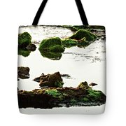 The Passetto Rocks And Water, Ancona, Italy Tote Bag