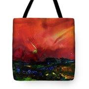 The Passing Sky Tote Bag