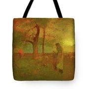 The Passing Storm Tote Bag