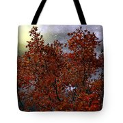 The Passion Of Autumn Tote Bag