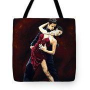 The Passion Of Tango Tote Bag by Richard Young