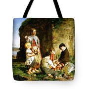 The Past And The Present Tote Bag