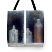 The Past In The Window Tote Bag