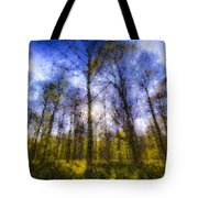 The Pastel Forest Tote Bag