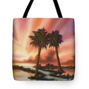 The Path Ahead Tote Bag