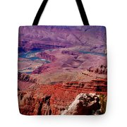 The Path Of The Colorado River Tote Bag