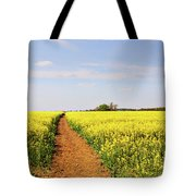 The Path To Bosworth Field Tote Bag by John Edwards