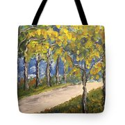 The Path To Piccadilly Tote Bag