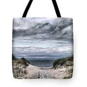 The Path To The Beach Tote Bag