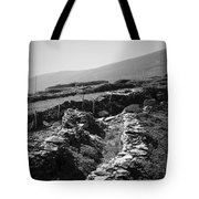 The Path To The Beehive Huts In Fahan Ireland Tote Bag