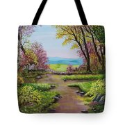 The Pathway To Heaven Tote Bag