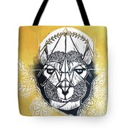The Patient Llama  Tote Bag