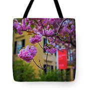 The Peabody Essex Museum At Spring Salem Ma Tote Bag