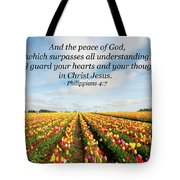 The Peace Of God Tote Bag