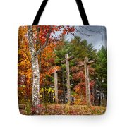 The Peace That Passes All Understanding Tote Bag by Debra and Dave Vanderlaan