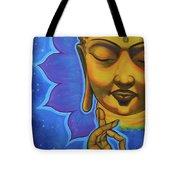 The Peaceful Buddha Tote Bag