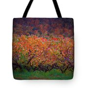 The Peach Orchard Tote Bag