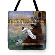 The Peacock And The Crow Tote Bag
