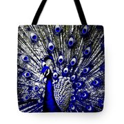The Peacock Fan Tote Bag
