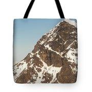 The Summit Of Mount Denali 19,000 Feet  Tote Bag