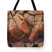The Pears Fresco With A Crackle Finish Tote Bag