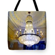 The Peninsula Chandelier Tote Bag