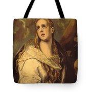 The Penitent Magdalene 1578 Tote Bag