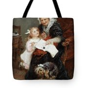 The Penitent Puppy Tote Bag